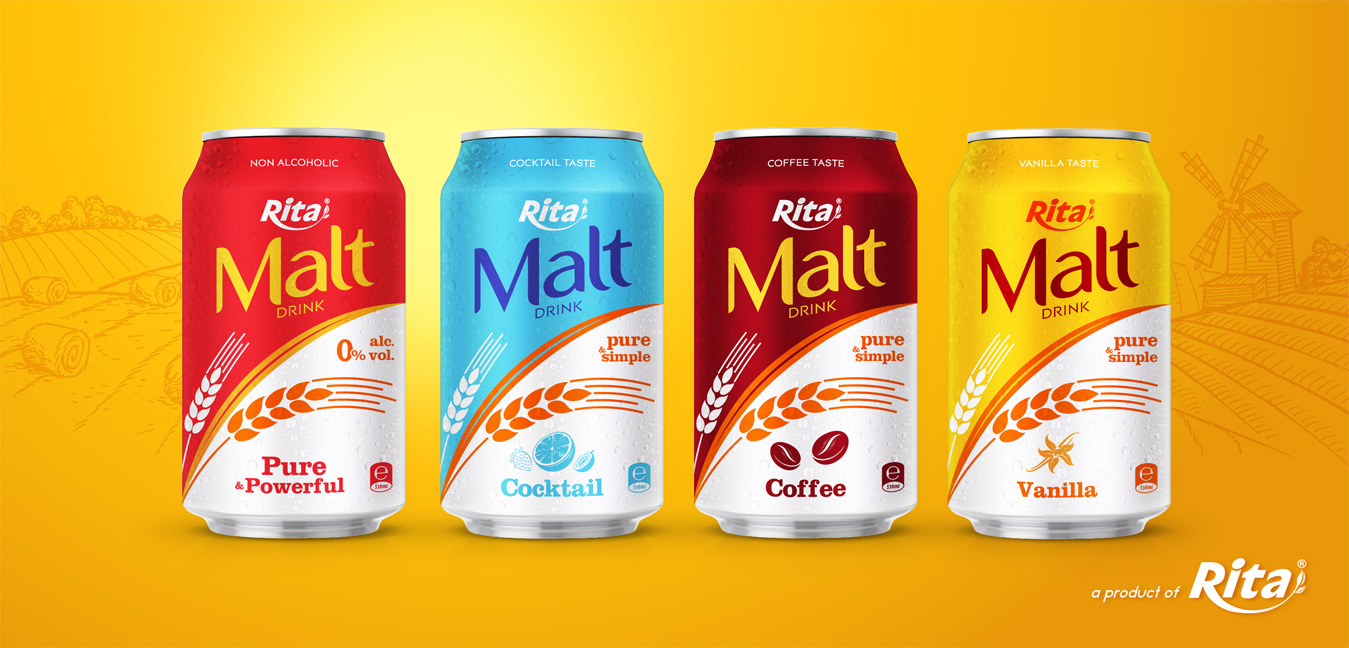 Poster Malt drink 330ml