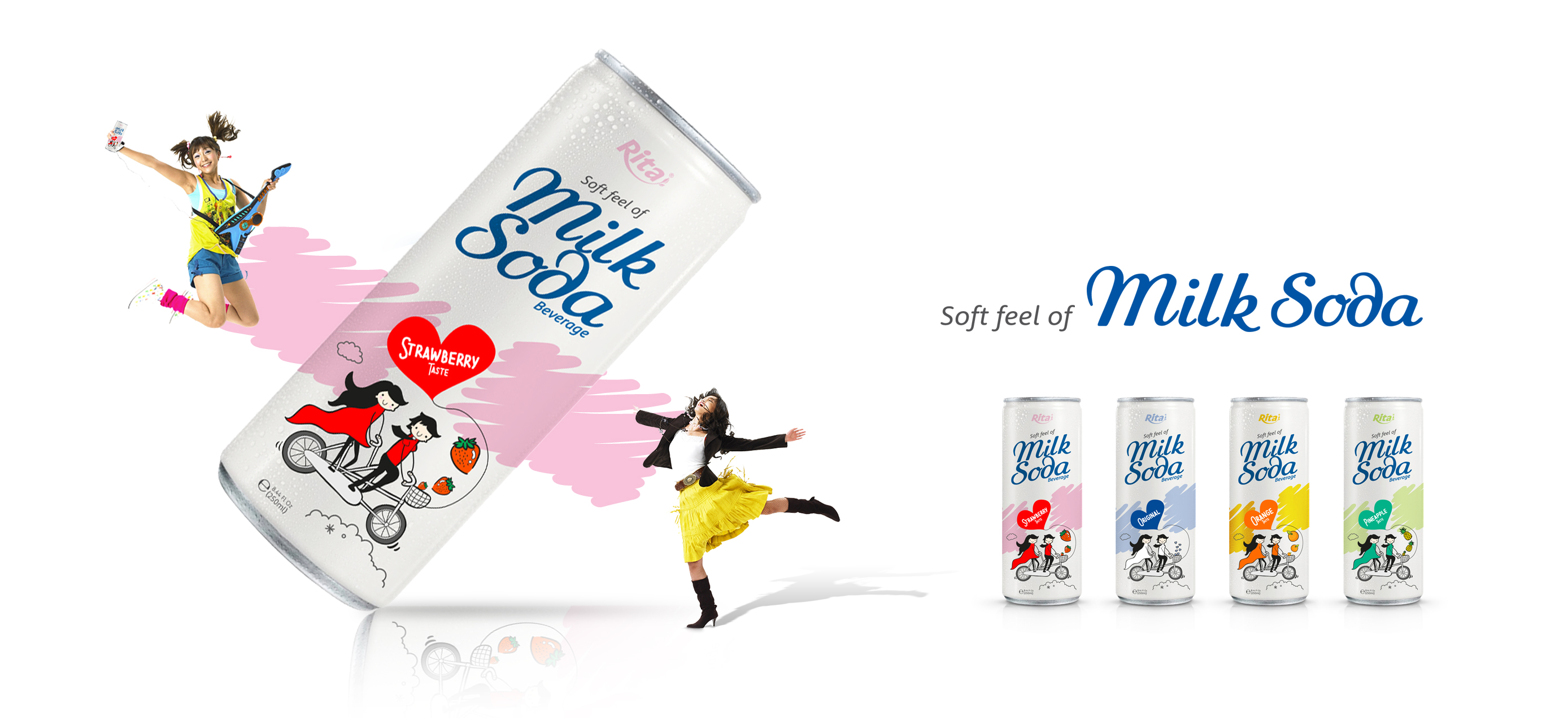 Poster Milk Soda from Rita beverage