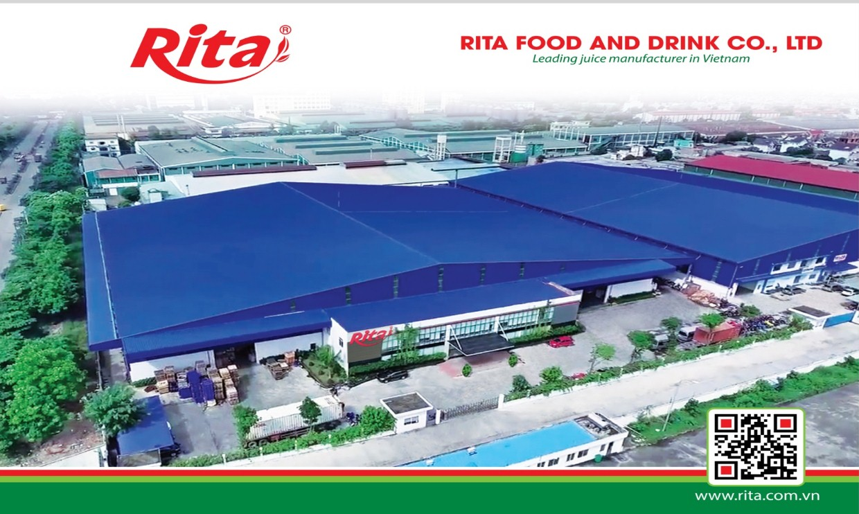 RITA beverages manufacturer viet-nam