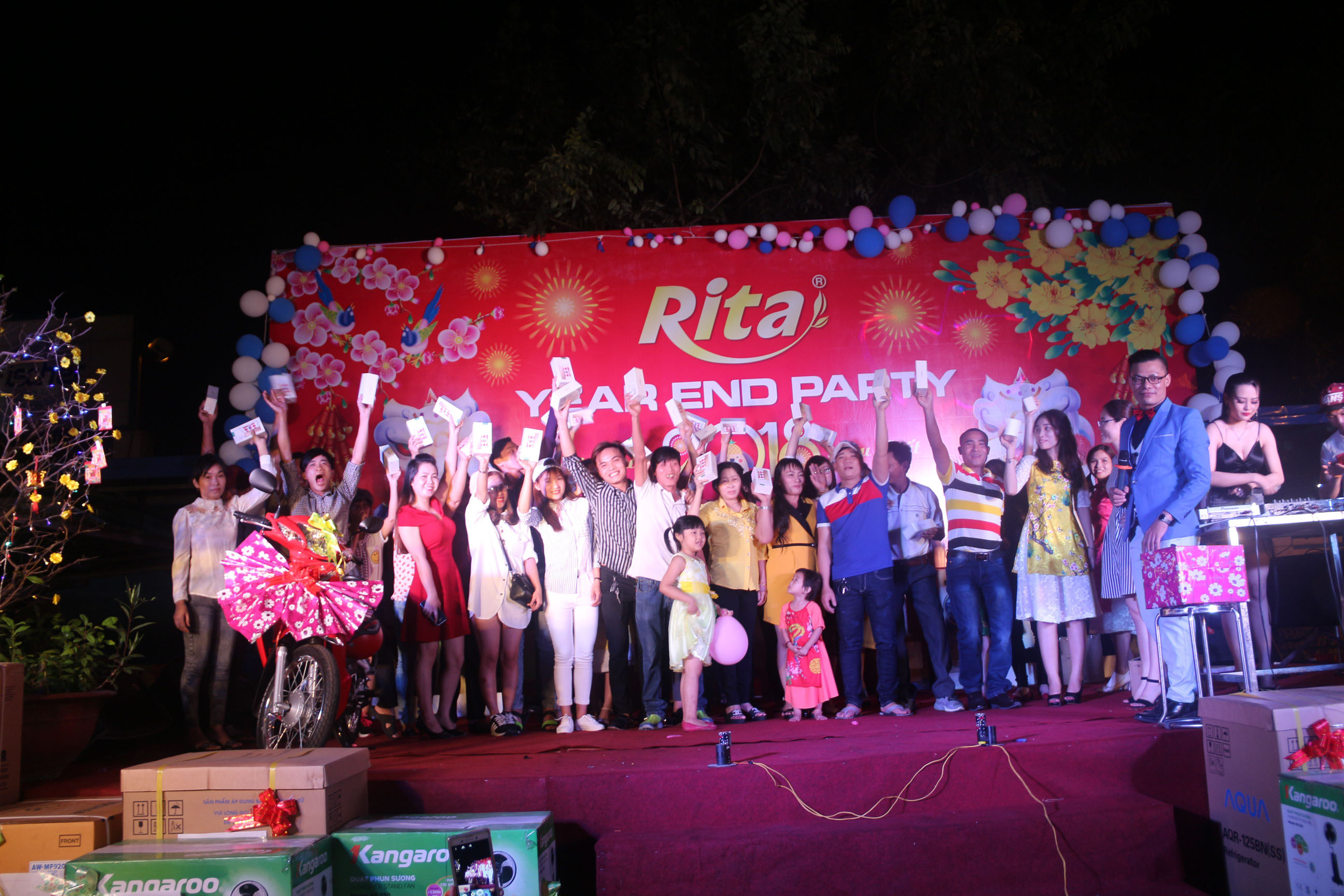 RITA Fruit Juice Manufacturing Suppliers - Party year end 2017 13