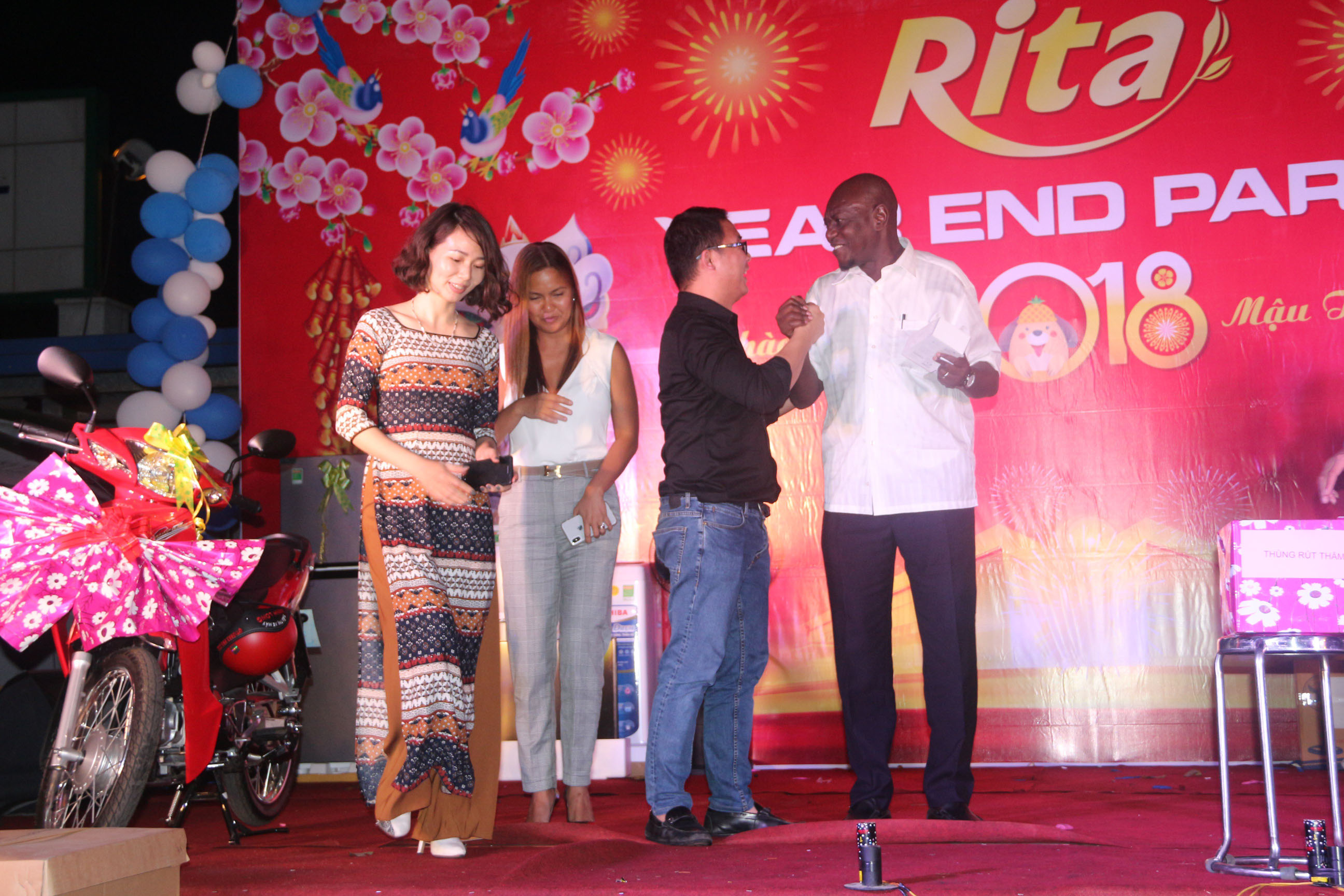 RITA Fruit Juice Manufacturing Suppliers - Party year end 2017 15