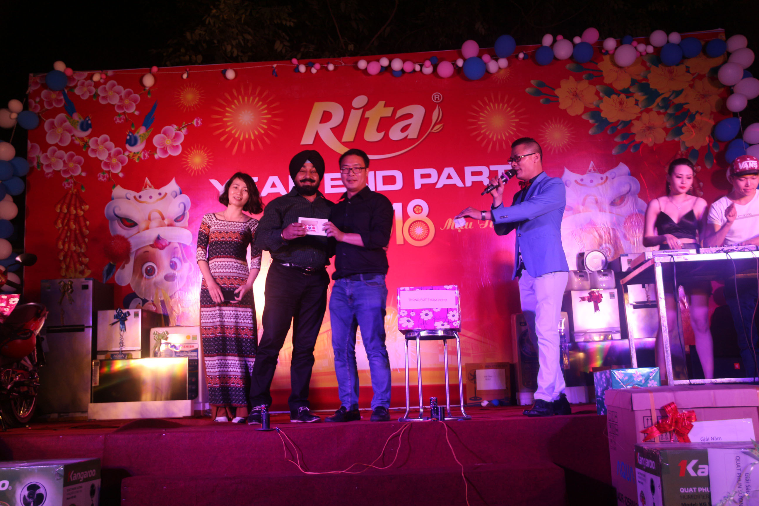 RITA Fruit Juice Manufacturing Suppliers - Party year end 2017 16