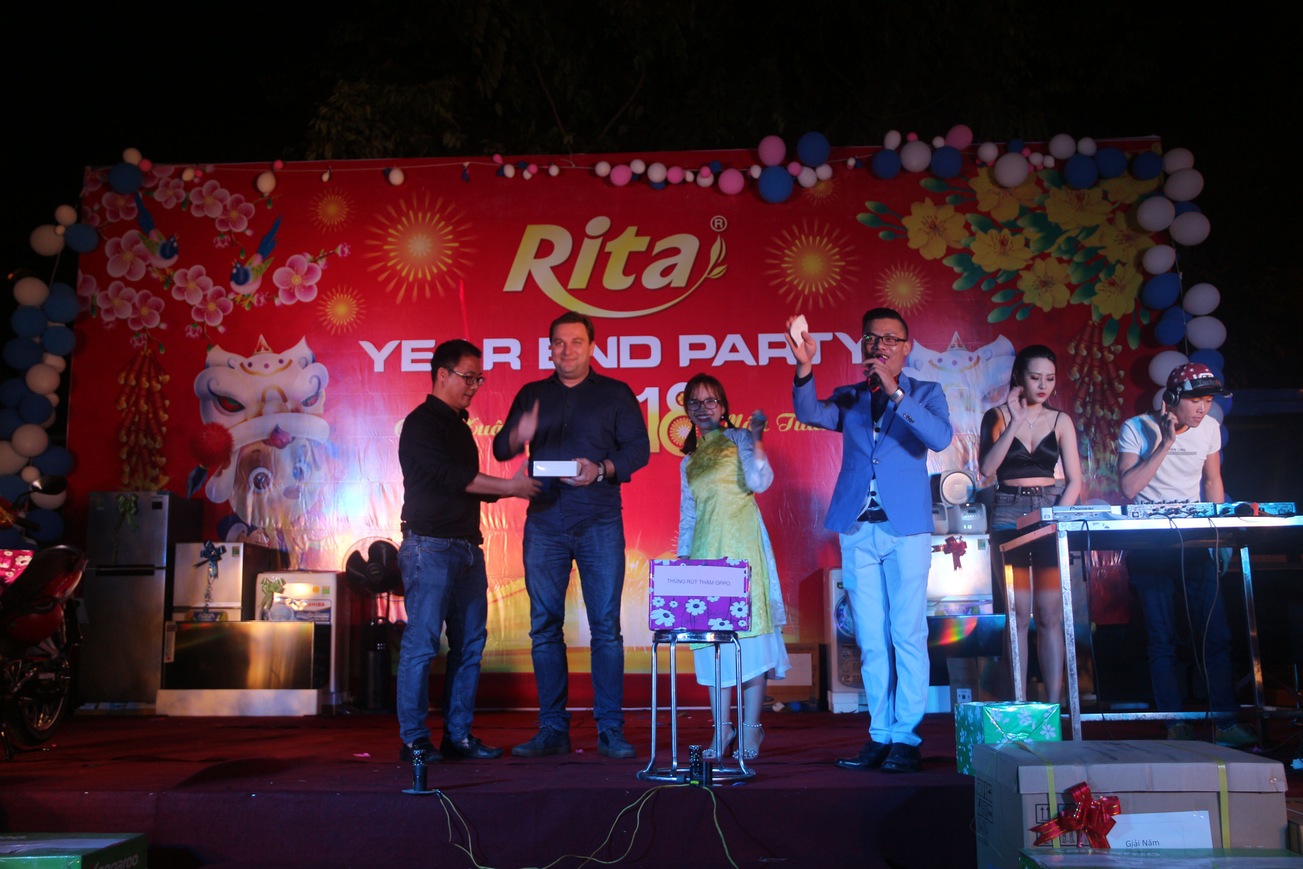 RITA Fruit Juice Manufacturing Suppliers - Party year end 2017 18