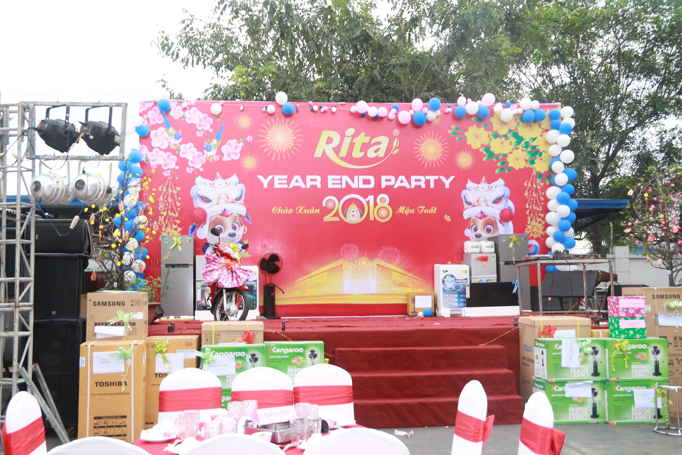 RITA Fruit Juice Manufacturing Suppliers - Party year end 2017 4