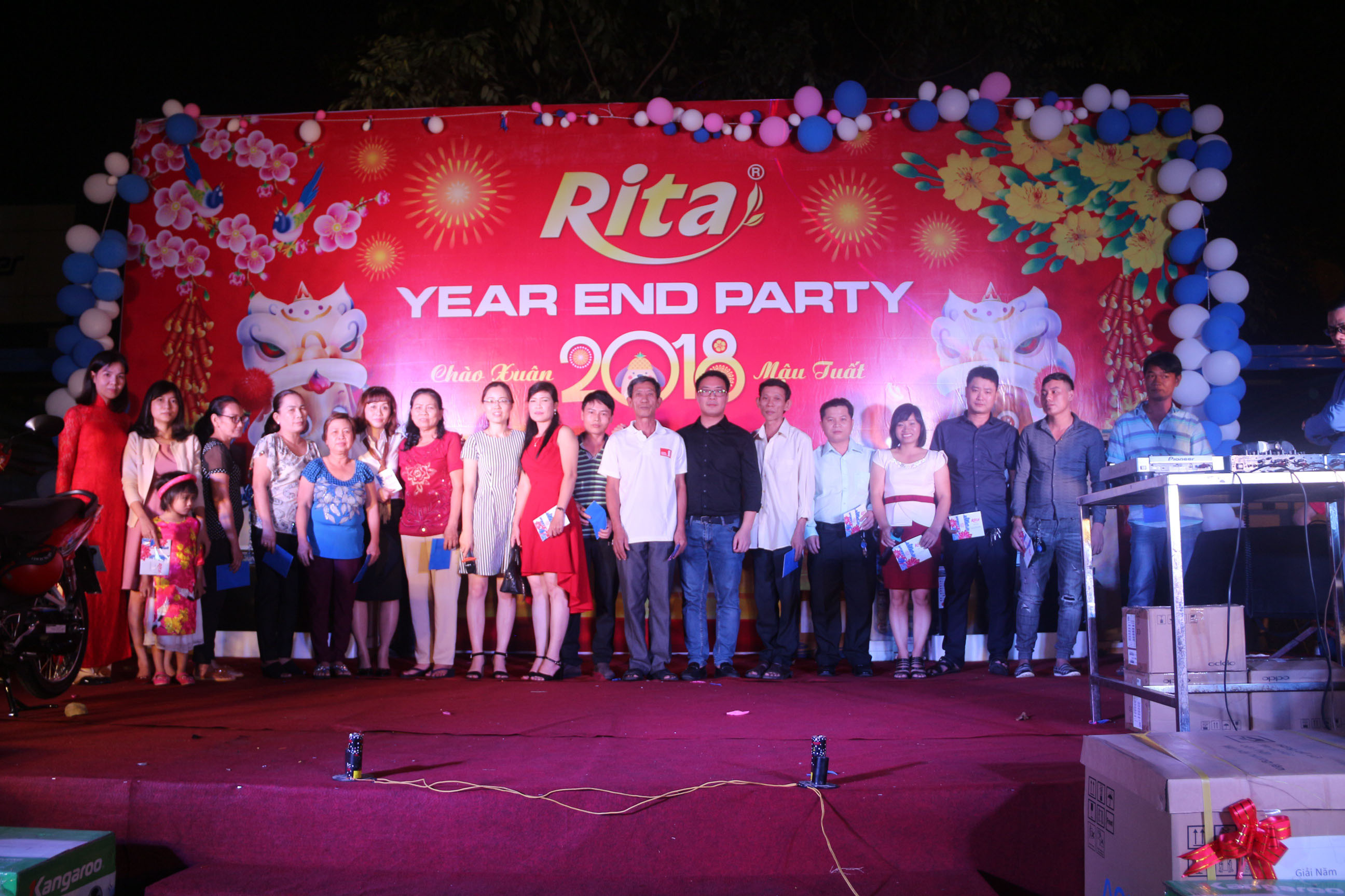 RITA Fruit Juice Manufacturing Suppliers - Party year end 2017 9
