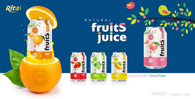 Natural fruit juice from RITA