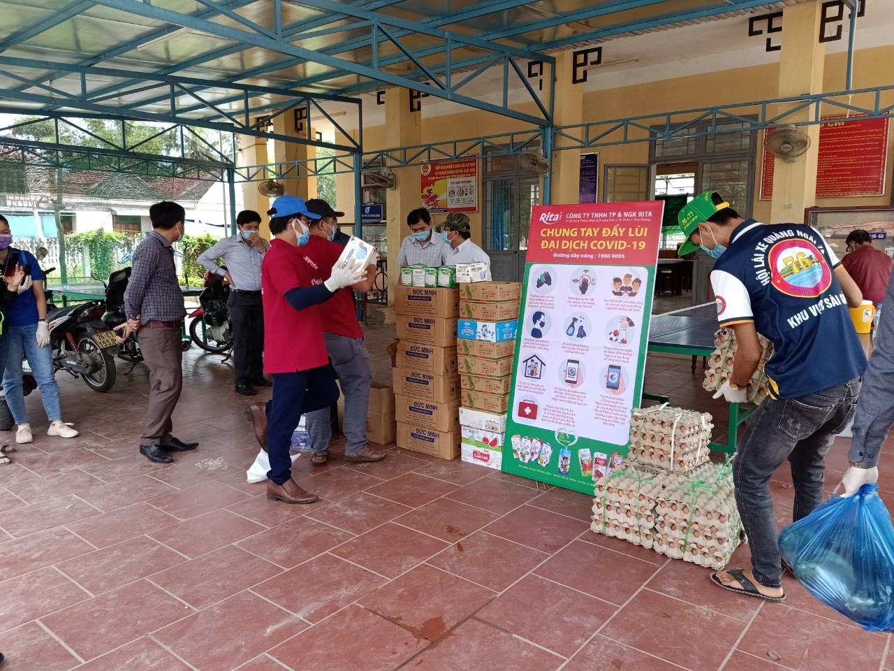 RITA DONATES 6,300 NUTRITION PRODUCTS TO SUPPORT THE FIGHT AGAINST COVID-19 PANDEMIC IN VIETNAM