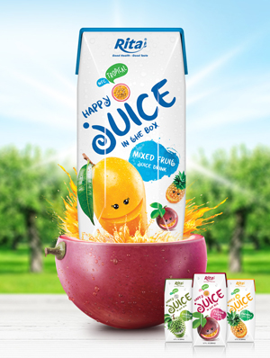 fruit juice in aseptic