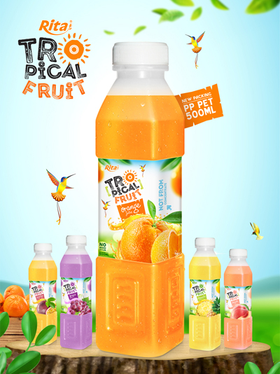 Fruit juice PP Pet 500ml