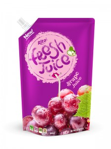 1000ml bag grape juice drink