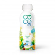 100 Coconut water fresh with pineapple