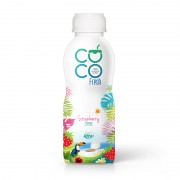 100 Coconut water fresh with strawberry