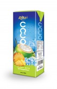 200ml Coconut  water with Pinapple tetra pack