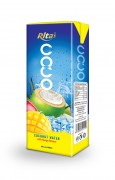 200ml Coconut  water with mango tetra pack