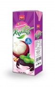 200ml Mangosteen juice fruits tetra pak