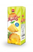 200ml Pineapple tetra pak