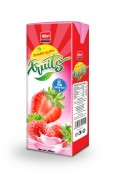 200ml Strawberry juice tetra pak