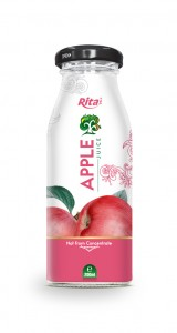 200ml Glass bottle  Apple Juice