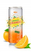 250ml Canned Carbonated Orange Drink