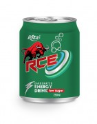 250ml Carbonated energy drink RCE low sugar