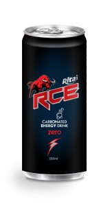 250ml Carbonated energy drink RCE