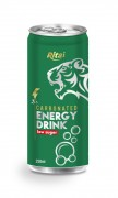 250ml Carbonated energy drink low sugar