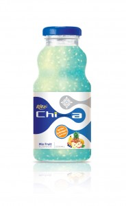 250ml Chia Seed Mix Fruit Flavor