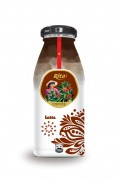 250ml Latte Coffee Glass bottle8