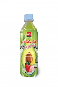 250ml Pet bot Avocado with Strawberry Juice