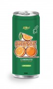 250ml carbonated orange drink low sugar
