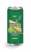 250ml carbonated pear drink low sugar