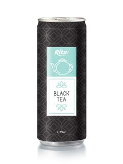 250ml Alu Can Black Tea Drink