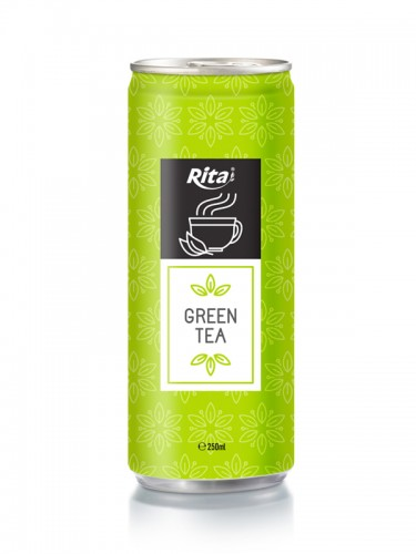 250ml Alu Can Green Tea Drink