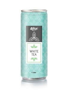 250ml Alu Can White Tea Drink