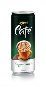 250ml Canned Cappuccino Coffee