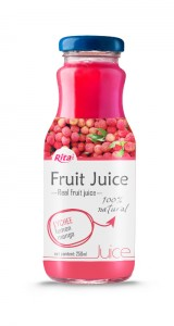 250ml Glass Bottle Lychee Juice