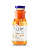 250ml Glass Bottle Organge Juice