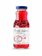 250ml Glass Bottle Raspberry Juice