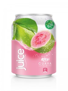 250ml Guava juice short can