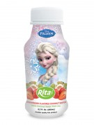 250ml PP bottle Strawberry Flavored Coconut Water