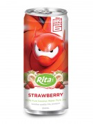 250ml Slim Can Strawberry Flavored Coconut Water