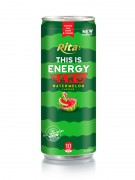 250ml Slim Can Watermelon Flavour Energy Drink