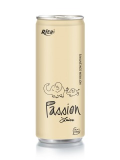 250ml aluminum can Passion Juice