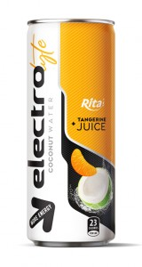 250ml cans more energy  Electrolyte Coconut water tangerine