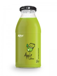 250ml glass bottle  Apple Juice