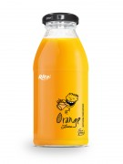 250ml glass bottle  Orange Juice
