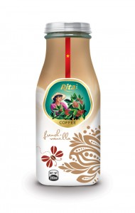 280ml Coffee French Vanilla Glass bottle