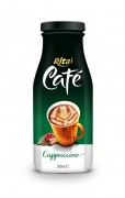 280ml Glass bottle Cappuccino Coffee