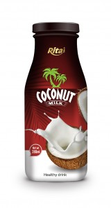 280ml Glass bottle Coconut Milk