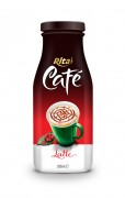 280ml Glass bottle Latte Coffee